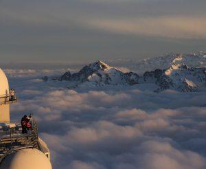 La Vue depuis le Pic du Midi